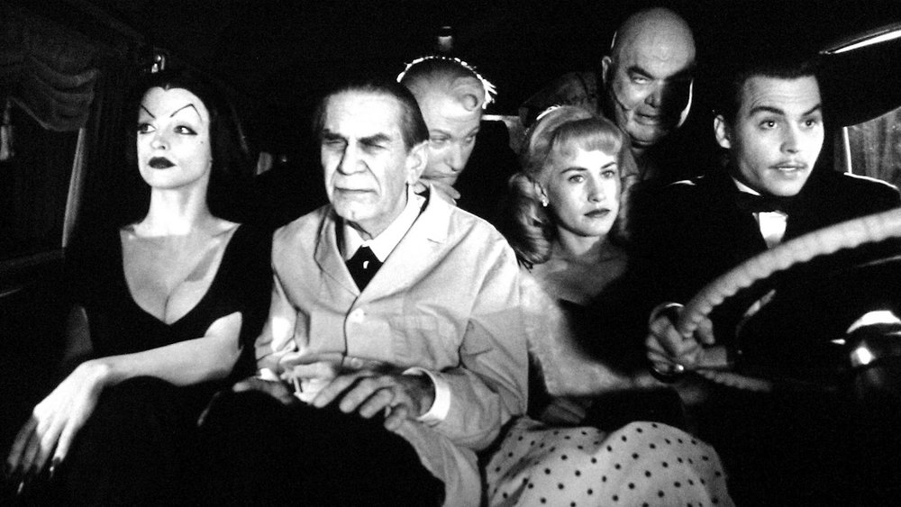 Ed Wood  directed by Tim Burton in 1994.