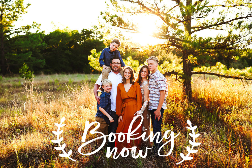 Fall time is just around the corner and I have a very special Early Bird Discount for a limited number of Sessions! All Sessions will be held in Decatur, TX at a beautiful country location.   Each shoot will be 1 hour long and all will be held on Sundays, Tuesdays and Fridays in the months of September, October and November.   There is a limit of 10 shoots at this special price so they will be first come first serve so don't wait!