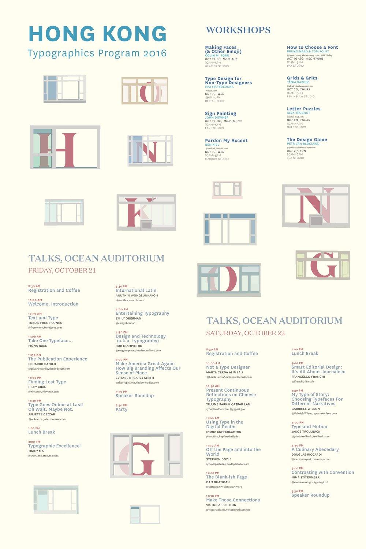 Program Poster Design