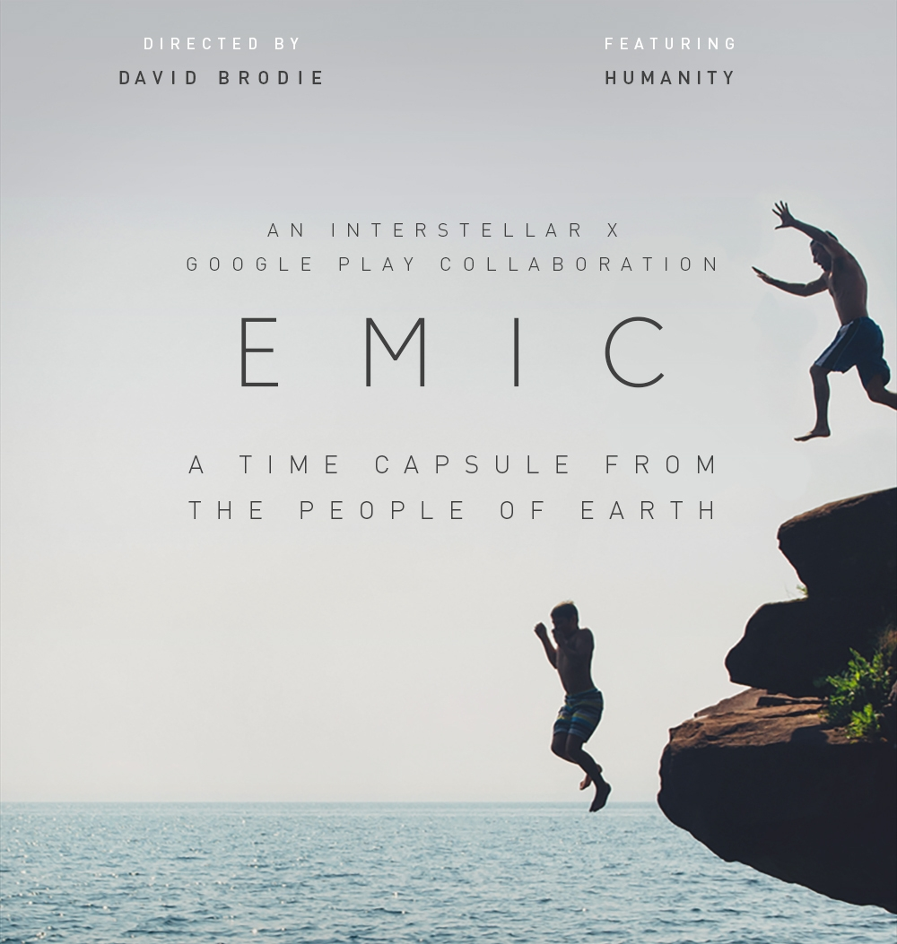 EMIC: An Interstellar x Google Play Collaboration -