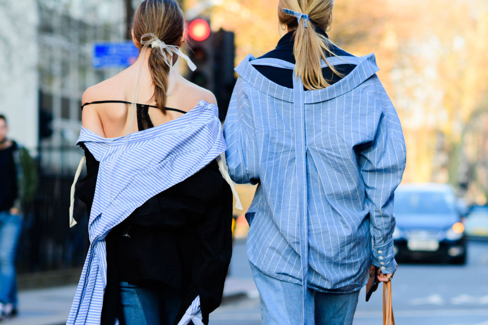 Twinning! Hair ribbons are our favourite way to accessorise this season.
