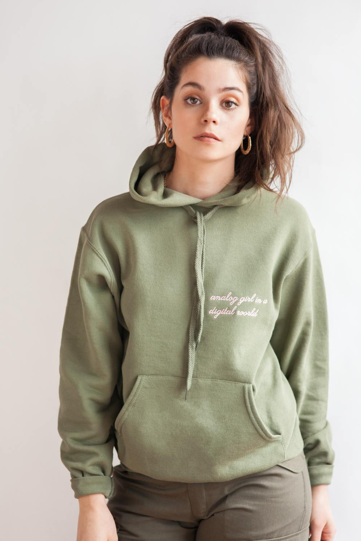Kim womens embroidered hoodie kanye
