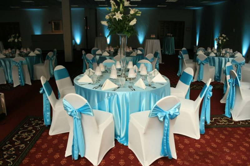 Linens on the Go! provides quality rental chair covers, sashes, table clothes, table overlays, runners, table skirts, in a variety of colors. Chair covers start at $1.75.   Our chair covers come in a rainbow of colors and an assortment of fabrics, including polyester, satin, spandex, and universal.We can deliver/pick up your chair covers in the Topeka area for $50, anywhere outside the area please add a $1 per mile. Linens on the Go! will set up the chairs and sashes for a $100 set up fee. Please add $1 per mile outside of Topeka.