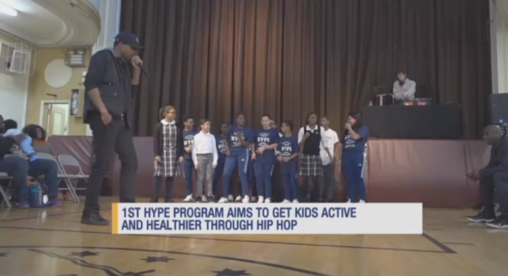 HYPE program is working to help motivate students to lead a more active lifestyle.