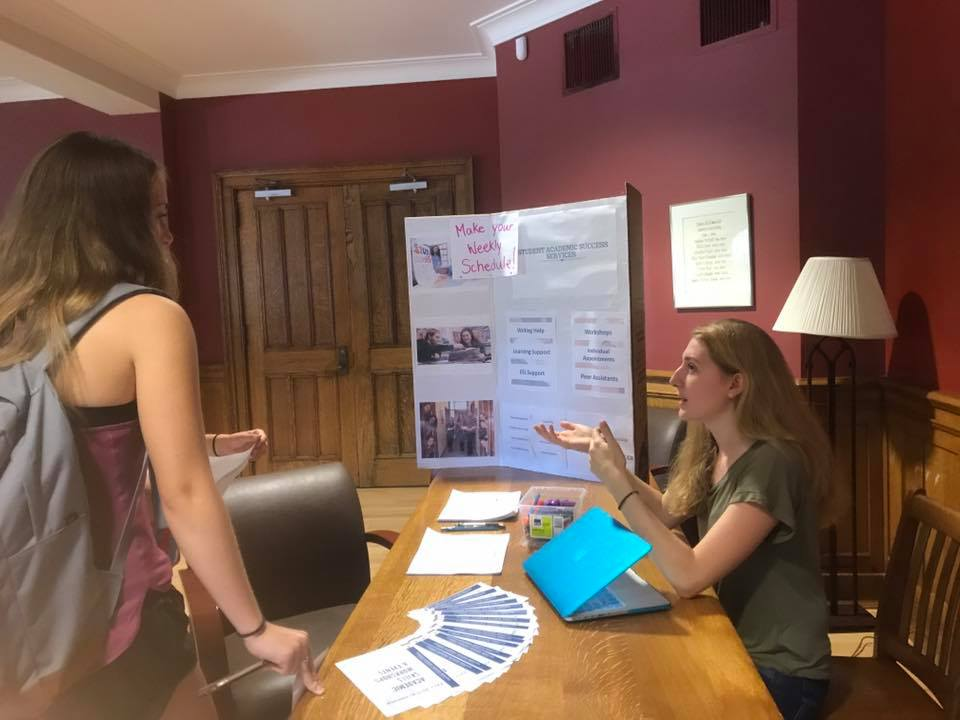 peer learning assistants came to help first-years prepare for the upcoming year