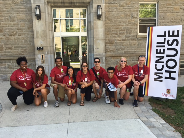 McNeill House staff are ready for move-in day!!