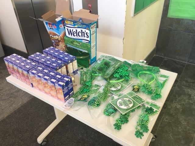 st. patrick's day care packages