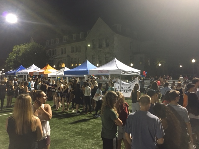 annual ressoc carnival held during frosh week