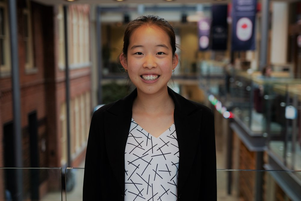 Events Intern - Angela Xu - The Events Intern works with the Events Coordinator to help execute residence-wide programming and events, communicate with vendors to arrange bookings/purchases, and manage a budget to ensure an optimal student experience.My name is Angela Xu and I am a first year Commerce student. Over the last four years, I have been involved with various organizations such as the York Regional Police, Mackenzie Health Hospital, Public Libraries, as well as Newcomer Support Programs. During my free time, I love painting and playing the flute. In addition, I love international travel, and my favourite place to date is Santorini, Greece, and favourite food has to be the macaron at Pierre Herme in Paris.