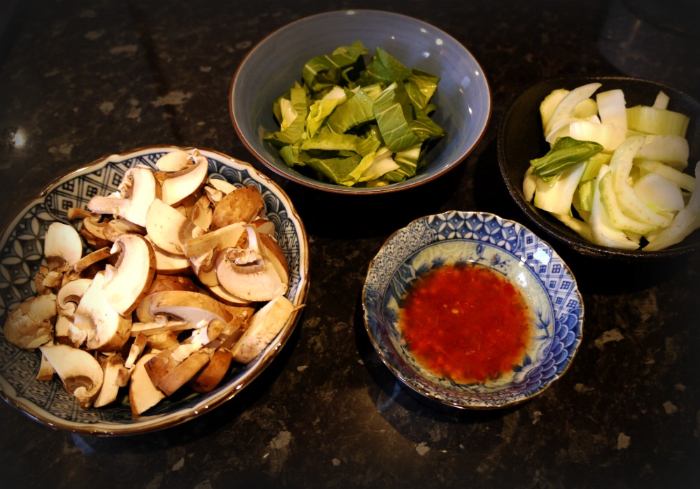 Asian Stir Fry Prep