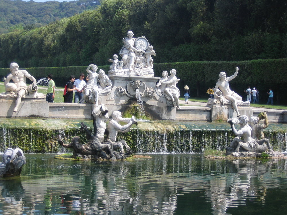 The Fountain, Caserta, Italy