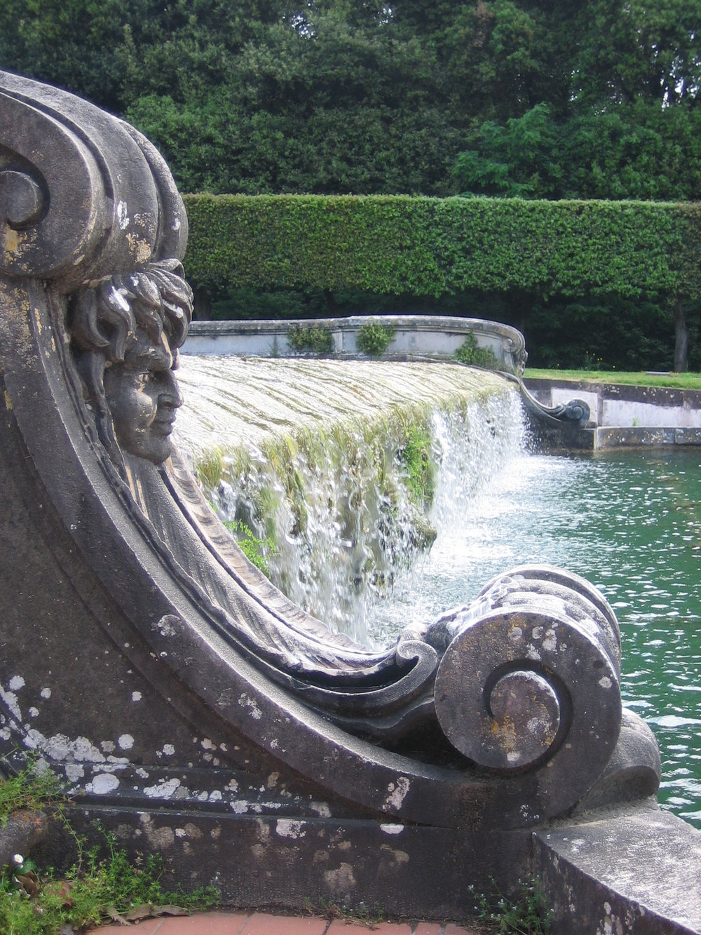Fountain Pool detail, Caserta
