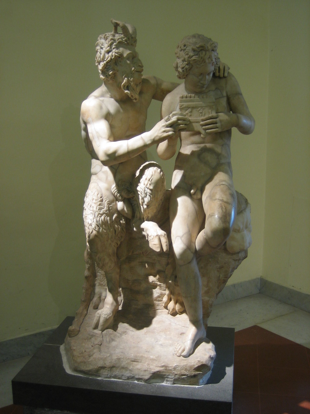 Satyr & Youth, Naples Museum