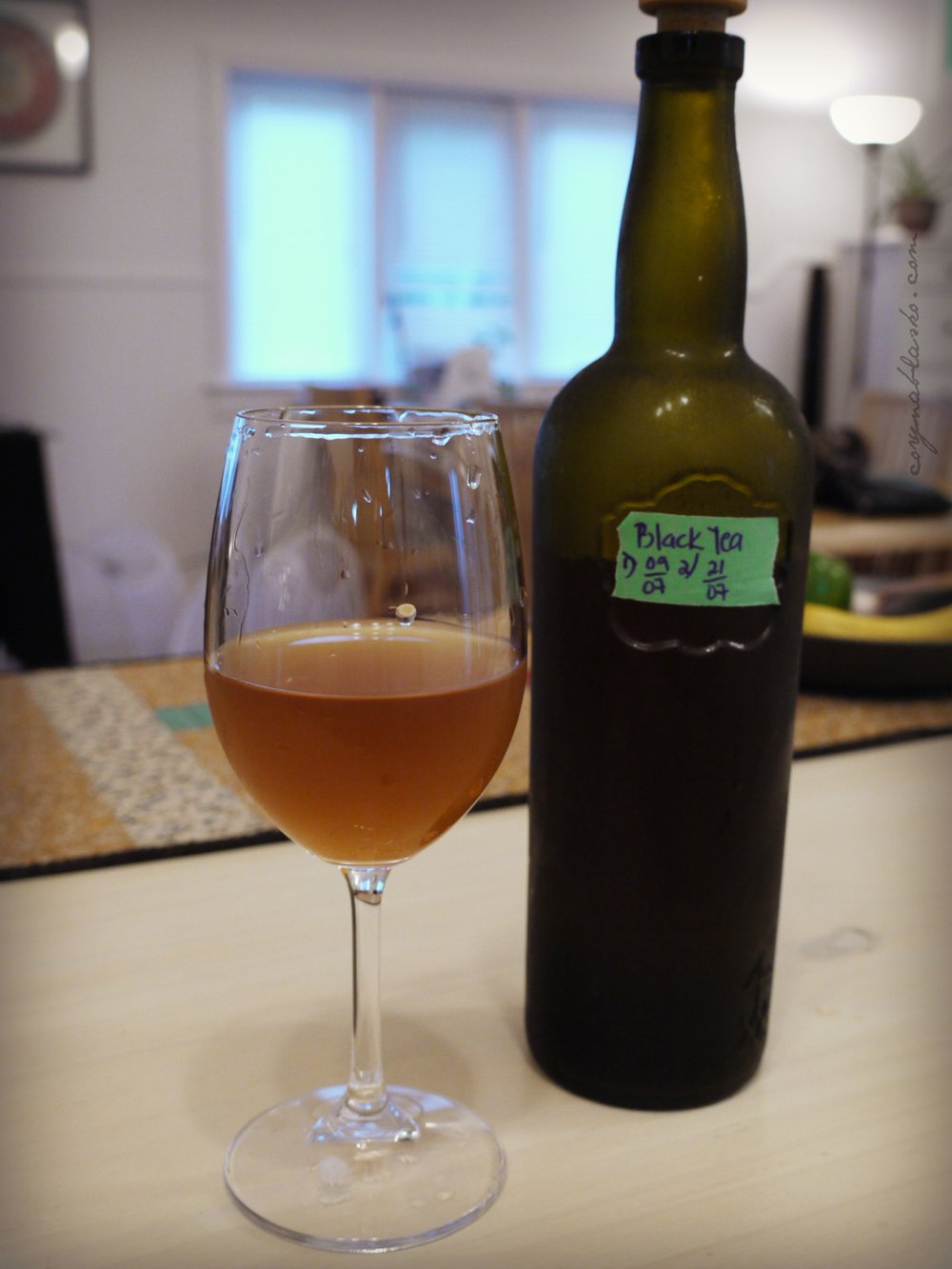 Delicious Black Tea Kombucha