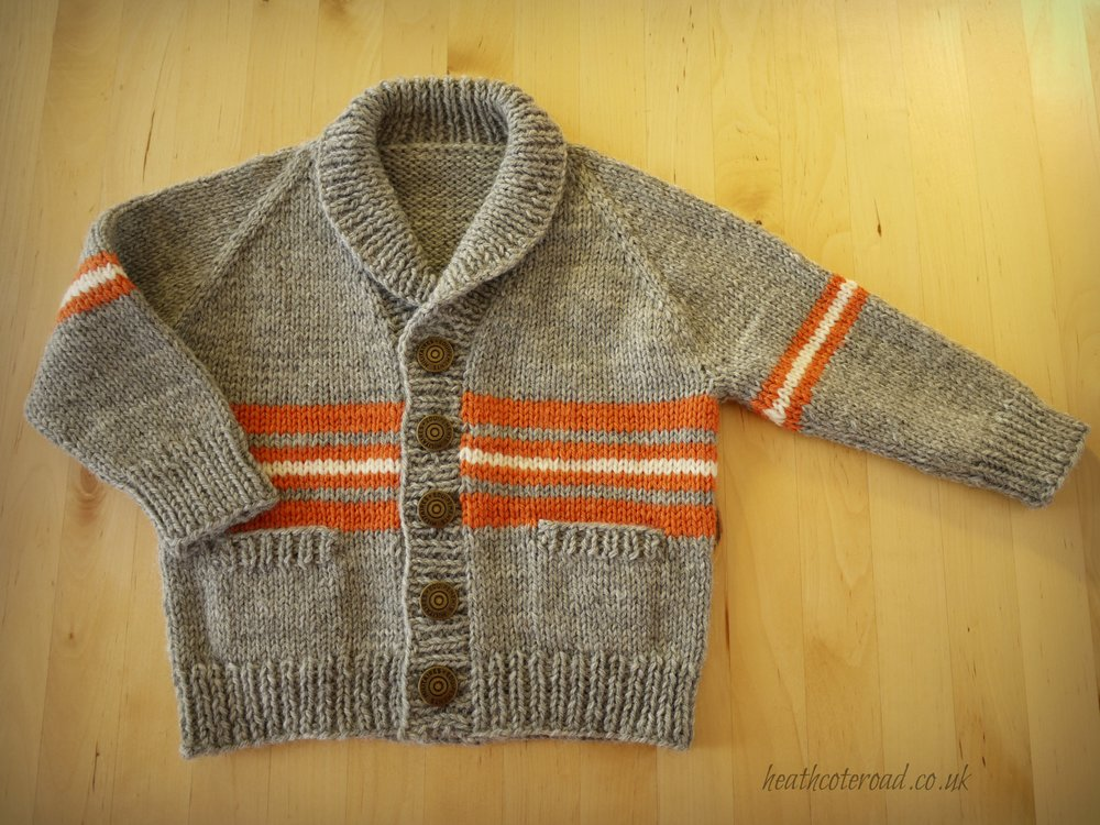 This was my first Gramps, size 6-12 months. Details are here.
