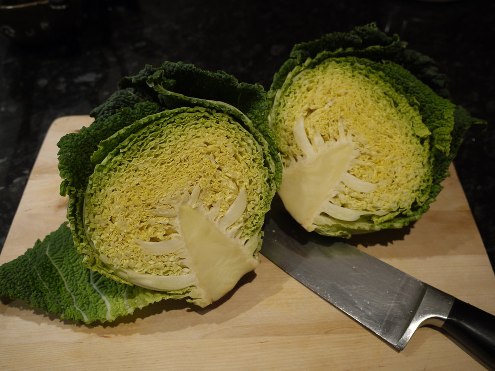 Beautiful Savoy Cabbage