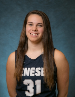 Freshman guard Savannah Williams lost her life in a fatal car accident on Dec. 20. Williams' positive energy and dedicated team work will live on through the Geneseo basketball program.