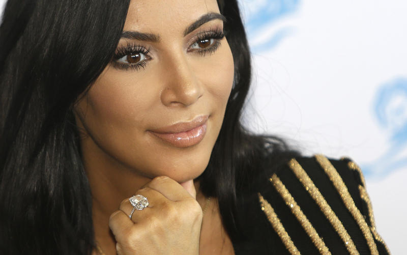 Kim Kardashian West was robbed in Paris in October 2016. The insensitive reaction on social media to Kardashian West's life being threatened highlights the public's unwarranted lack of compassion. (Lionel Cironneau/AP Photo)