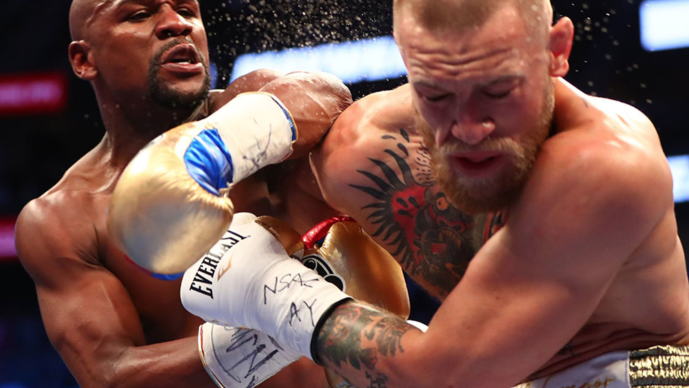 "In his boxing debut, former UFC fighter Conor McGregor took on professional boxer Floyd ""Money"" Mayweather in the boxing ring on Saturday August 26. Despite his minimal boxing experience, McGregor proved his worth as a boxer, lasting 10 rounds against Mayweather. (Courtesy of Creative Commons)"