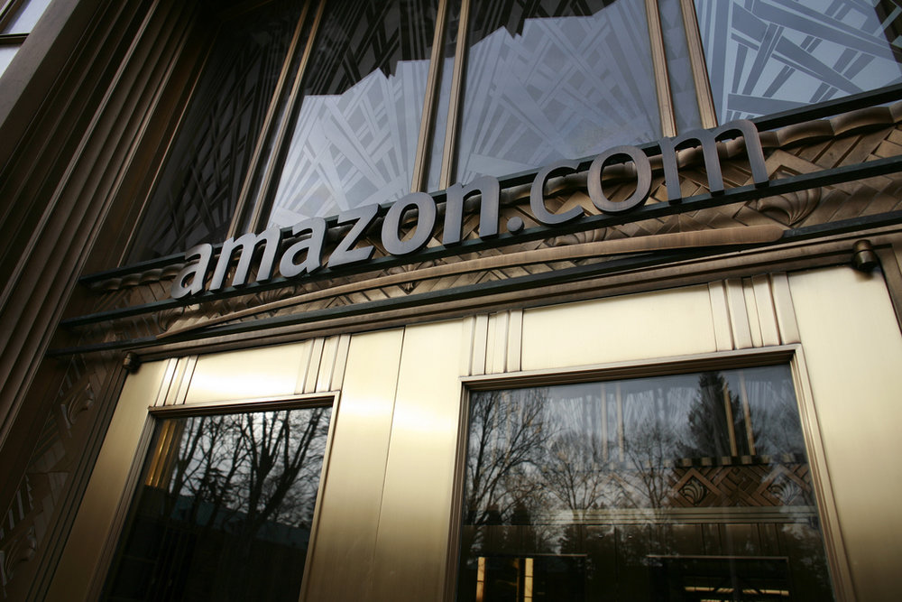 Pictured above is the front door at Amazon's headquarters in Seattle. The company is now accepting bids for its second headquarters, HQ2, and should consider smaller cities as viable options. (Robert Scoble/Creative Commons)