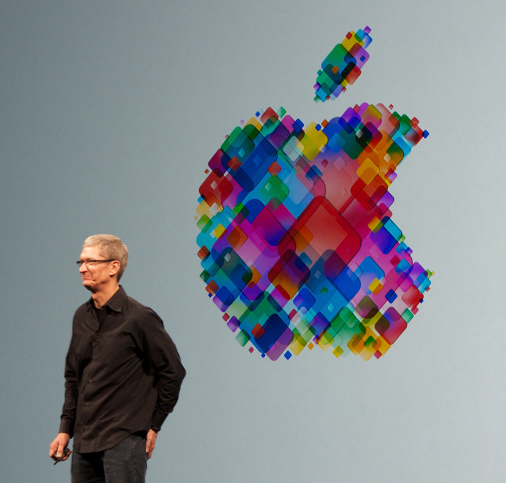 Current Apple CEO Tim Cook gave the keynote speech at the 2012 World Wide Developers Conference. Cook recently presented the new iPhone X in California, which has new features and will be sold for $999. (Mike Deerkoski/Creative Commons)