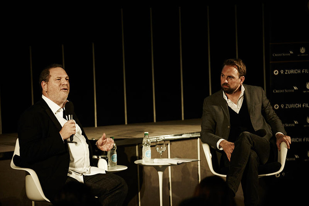 Pictured above is Harvey Weinstein at the 2013 Zurich Film Festival Masters panel. After many reports of Weinstein's sexual assault against actresses, it is time that the entertainment business starts addressing all controversial pasts of abusive Hollywood employees. (Creative Commons)