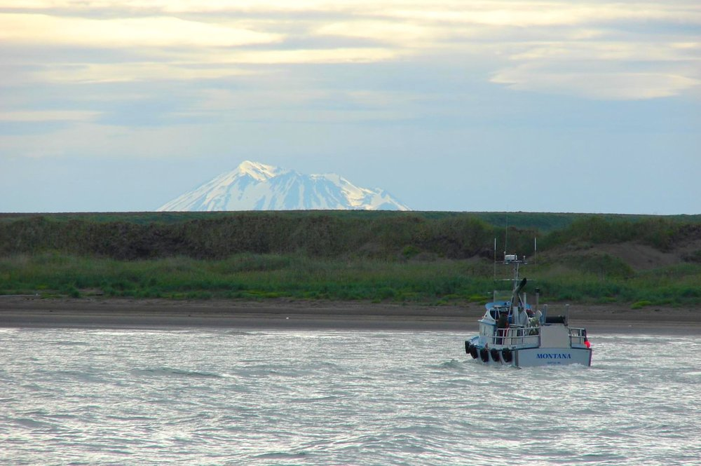Pictured above is a boat traveling through Bristol Bay in Alaska. This area has high value from an environmental standpoint and President Trump's Administration is ignorantly considering removing these protections on Bristol Bay, which will impact endangered species and resources. (Creaive Commons)