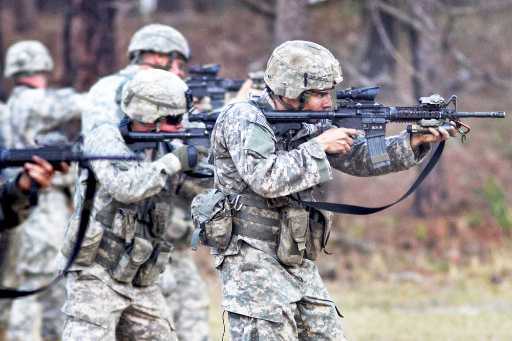 (Pictured above) Eighty-second Airborne Division's first Brigade Combat Team in 2011 at Fort Bragg, N.C. The controversial decision to allow mental illness waivers threatens the safety of not only individuals joining the army, but also our nation and enemy lines. (Sgt. Michael J. MacLeod/creative commons)