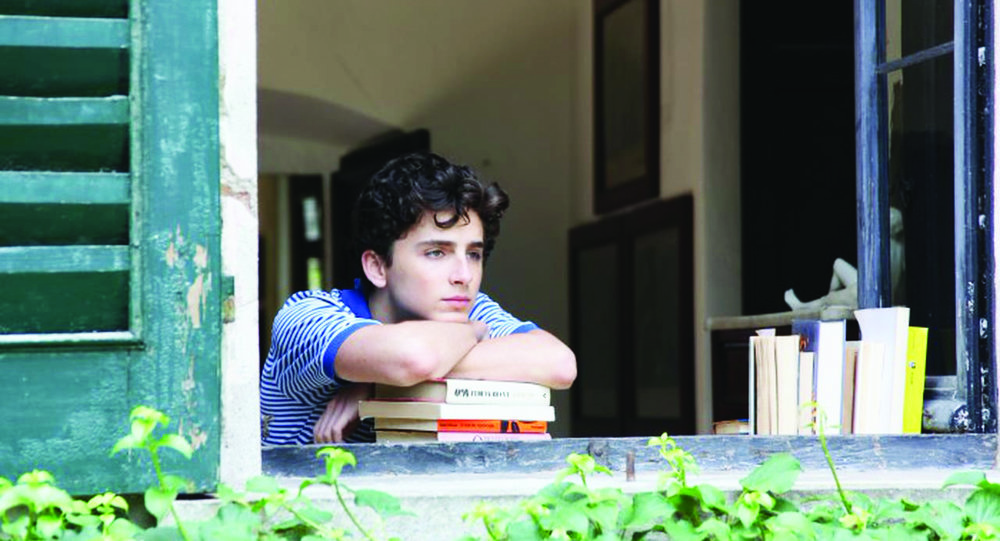 The oscar nominated movie  Call Me by Your Name  tells the story of the budding romance between two emotive characters, Oliver, played by Armie Hammer, and Elio, played by Timothée Chalamet (pictured above). Hammer and Chalamet have terrific chemistry, making the story alluring and honest. (Courtesy of Creative Commons)