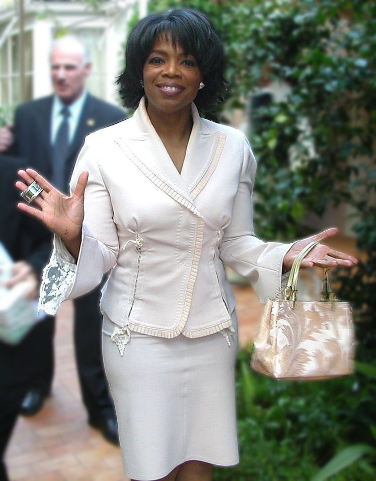 Pictured above is Oprah Winfrey at the Hotel Bel Air in Los Angeles during one of her 50th birthday celebrations. Winfrey gave a speech at the 2018 Golden Globes that caused fans to call for her to run for president. This view of celebrities serving as political figures is harmful due to their lack of experience. (Courtesy of Creative Commons)
