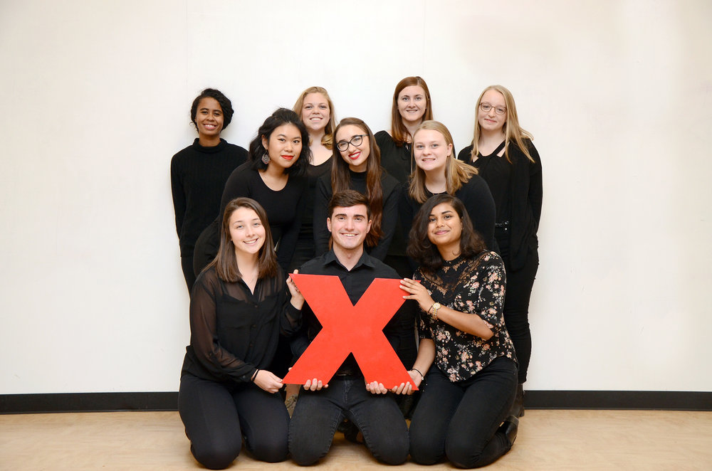 The TEDxSUNYGeneseo eboard (pictured above) has planned and executed the talk series on-campus, which will be during all college hour for students to attend. The event should be commended for celebrating diversity among individuals. (Courtesy of troy hallahan/advertising manager)