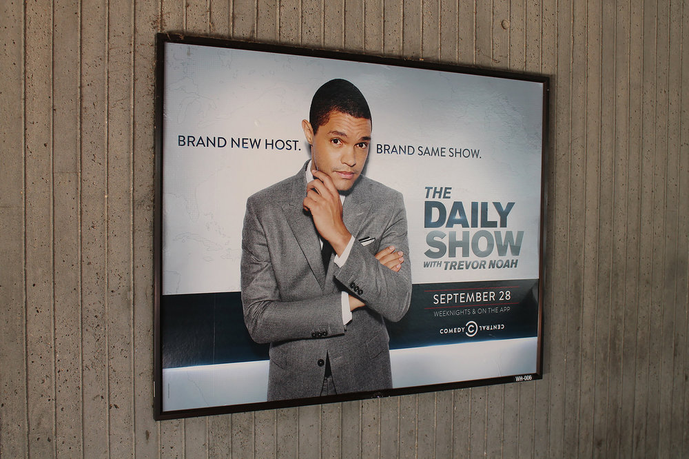 """""""The Daily Show"""" and comedic news show like it are effectively able to combine news with comic relief and viewers can educate themselves on current political issues as well as have a laugh or two. While some are skeptical about the combination of humor and news reporting, these shows create a more personal, light-hearted news experience. (Elvert Barnes/creative commons)"""
