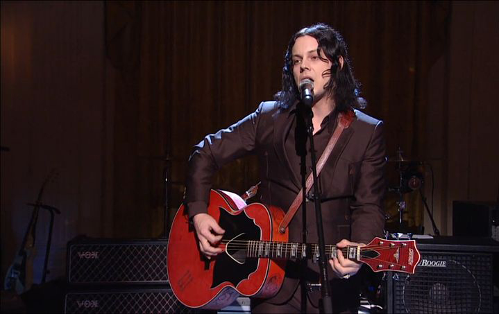 "Pictured above is Jack White performing ""Mother Nature's Son"" as part of a concert honoring Paul McCartney with the Library of Congress Gershwin Prize for Popular Song in 2010. White released his third album  Boarding House Reach  on Friday March 23. The album mixes various genres, but is still reminiscent of his old style. (White House Staff/Creative Commons)"
