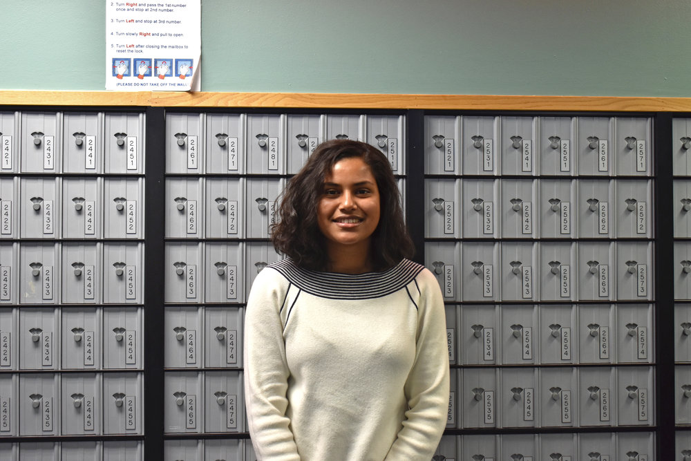 Biology major junior Simran Singh participates in research with the biology and chemistry departments. Singh's research gives her interdisciplinary perspectives and has granted her the opportunity to cultivate practical, goal-oriented skills after graduation. (Izzy Graziano/Knights' Life Editor)