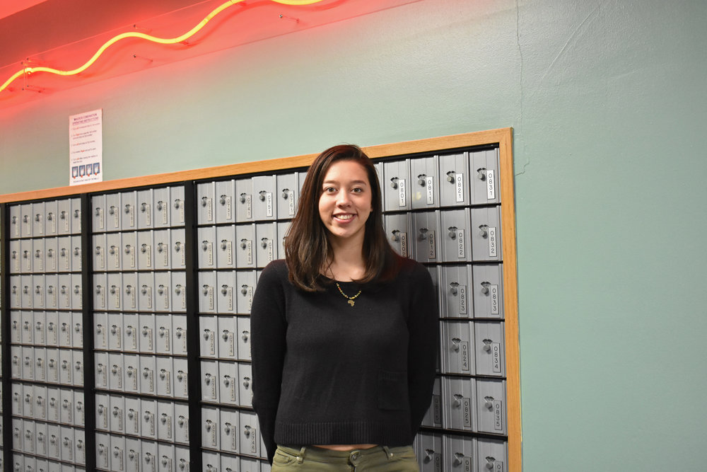 International relations major senior Isabella Vicentini discovered her interest in South Africa when studying abroad. Vicentini's research examines hashtag movements, which have become popular among South African students. (Izzy Graziano/Knights' Life Editor)