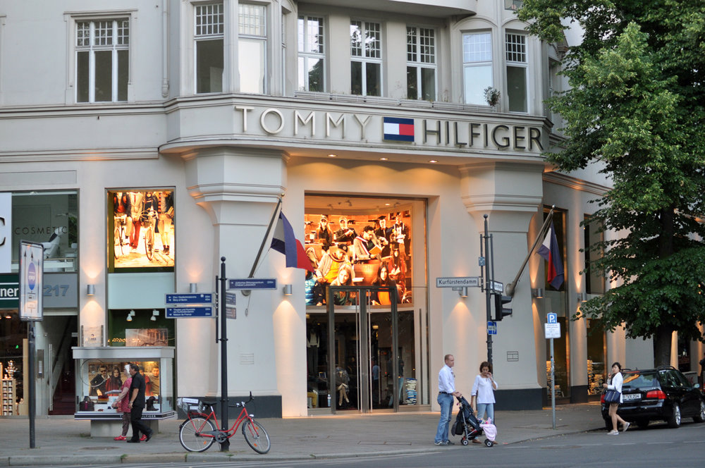 A Tommy Hilfiger store (pictured above) in Berlin. The brand released a new line that features easy to wear designs for individuals with disabilities. This progressive decision should motivate others in the industry to diversify their clothing lines. (Courtesy of Creative Commons)