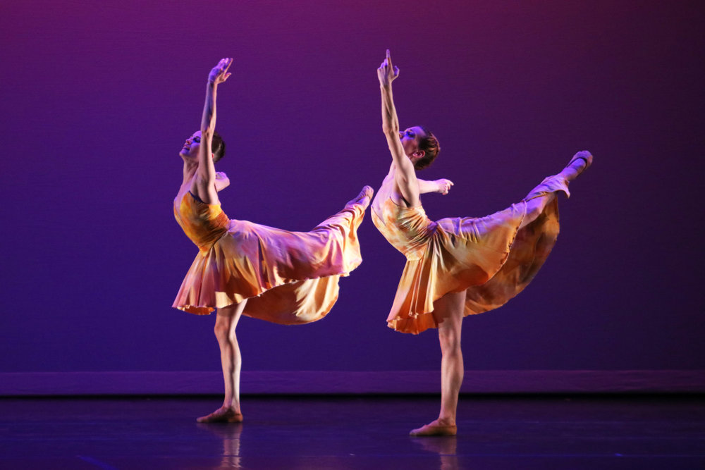 """Ballet Memphis performed in the last show of the spring 2018 Geneseo Limelight and Accent series on Saturday April 14 in the Wadsworth Auditorium. The show contained three numbers: """"Confluence,"""" """"The Fingers of Your Thoughts"""" and """"In Dreams."""" These numbers reflected the group's dancing style—a more contemporary form of ballet (Elizabeth Jacobs/ design & layout editor)."""