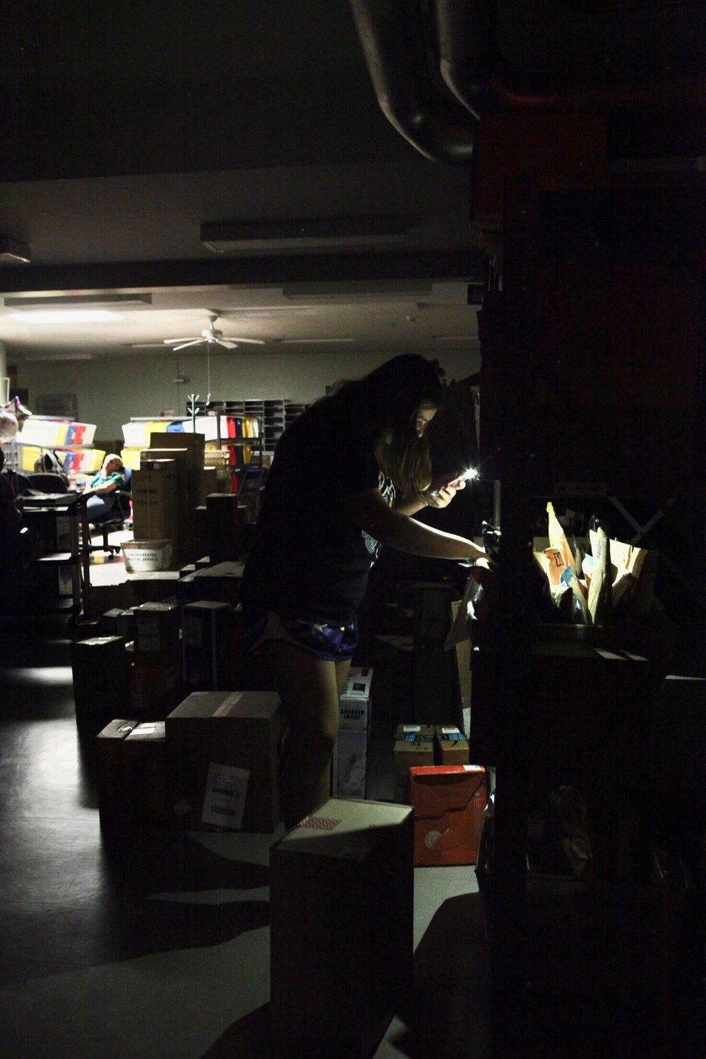 The MacVittie College Union mailroom (pictured above) was one place affected by the campus power outage on Friday Aug. 31. The incident lasted around two hours, causing delays or cancellations of various events around Geneseo (UdeshI Seneviratne /photo editor).