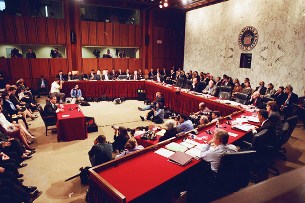Christine Blasey Ford is set to testify in front of the Senate Judiciary Committee (pictured above) on Thursday Sept. 27. Despite the numerous obstacles in her way, it is crucial that she take the stand (U.S. Senate Historical Office/Creative commons).