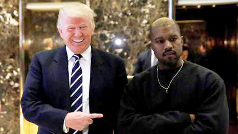 President Donald Trump (pictured left) and rapper Kanye West (pictured right) have openly admitted support for one another on several occasions. West visited the White House on Thursday Oct. 11 to speak to President Trump, influencing the opinions of many fans. (Courtesy of Creative Commons)