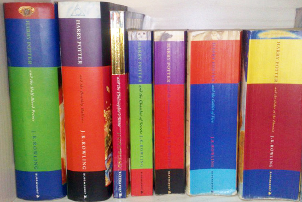 Fantasy novels like the  Harry Potter  series (pictured above) can help remove readers from the world around them. In times of high political tension, it seems fiction is an important escape (courtesy of creative commons).