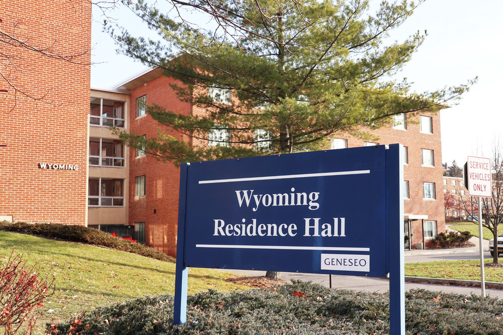 Incidents of vandalism have greatly increased in Wyoming Hall (pictured above), have caused issues for residents and RAs. The damage has also created frustration for residents as well as administrators. (Kenji Nagayoshi/Staff Photographer).