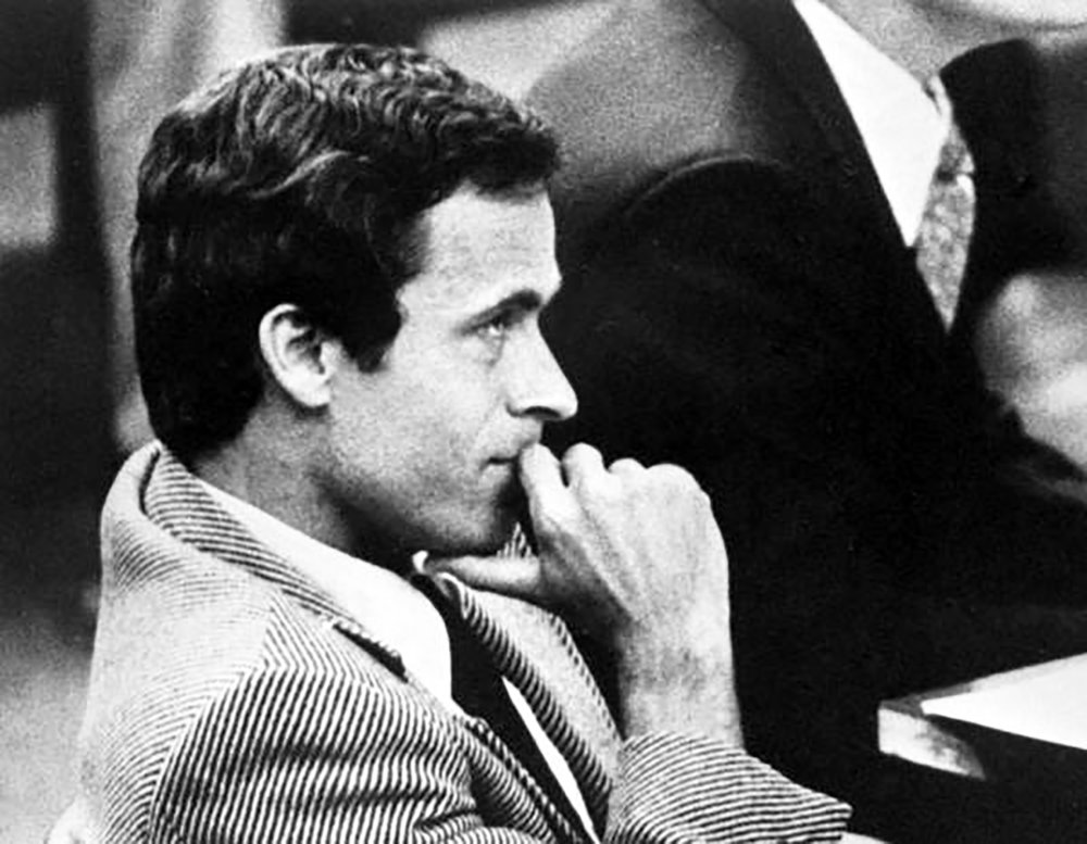 Infamous serial killer Ted Bundy (pictured above) is the recent subject of multiple media projects, including a docuseries and upcoming film. Portraying him as an attractive and charismatic man is not romanticizing a criminal, but depicting him with alarming accuracy (Donn Dughi/Creative commons).