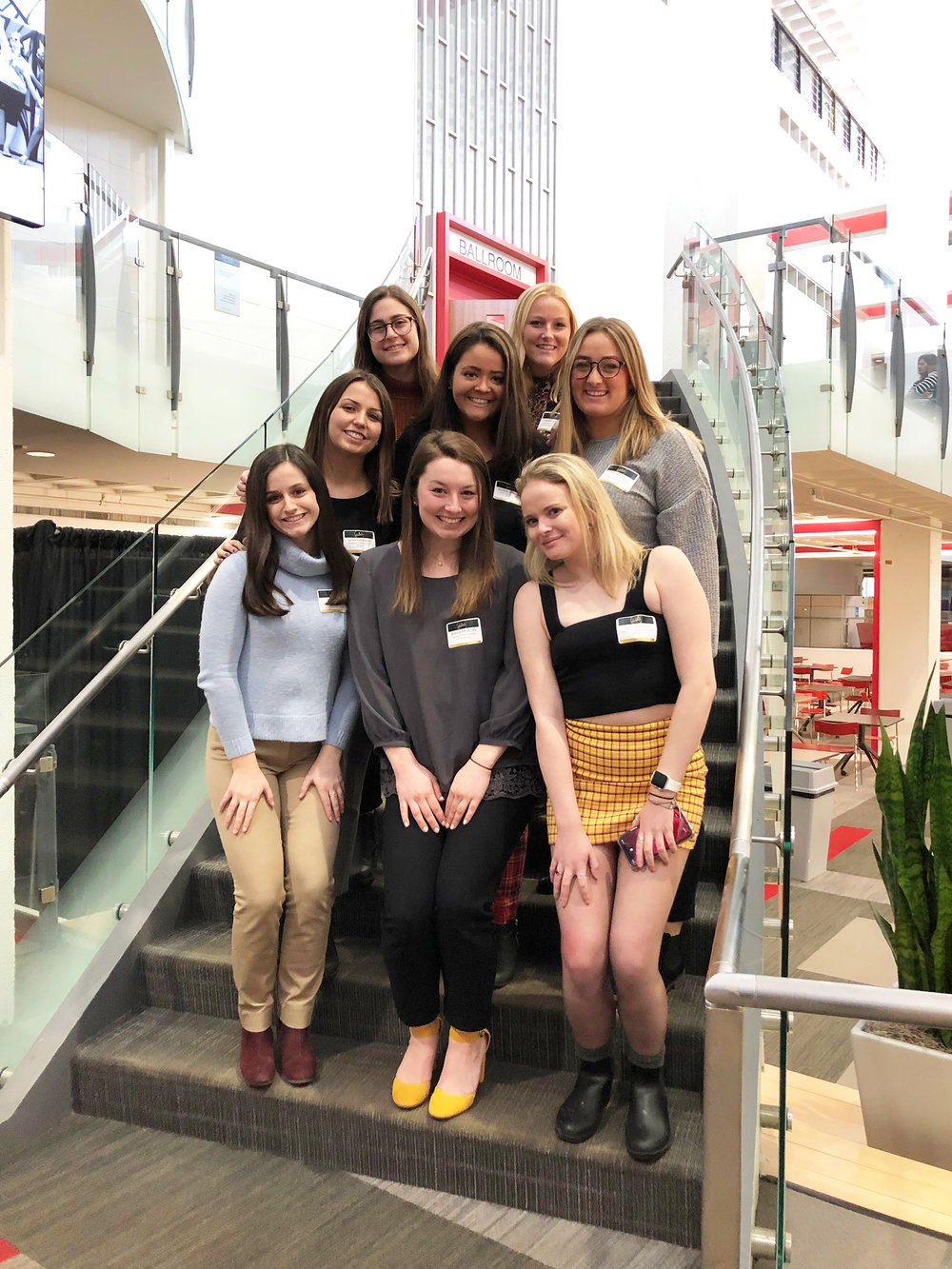 Sigma Delta Tau's Gamma Chi chapter is unique to Geneseo, known for their commitment to leadership development and philanthropy. SDT's executive board (pictured above) attended a conference in Boston last month where they had the opportunity to collaborate with other chapters to hone their leadership skills (Courtesy of Gillian Lindstrom).
