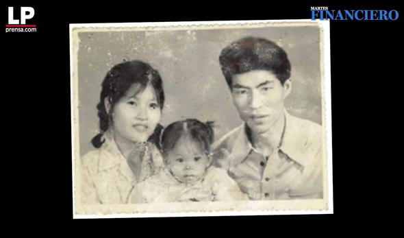 Min Chen's parents.