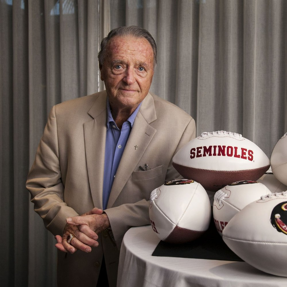 Retired FSU football coach Bobby Bowden.
