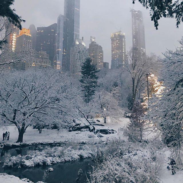 Ok NYC, you win. ❄️😍