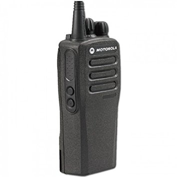 The MOTOTRBO CP200d is the successor to the Radius CP200 radio and is the perfect combination between functionality and simplicity. The CP200d radio is capable of 16 digital or analog channels, has a T/A range of 3-5 miles, and has an average battery life of 16+ hours. This radio will also Voice Announce which means you don't have to look when switching channels because the radio will give you an audio prompt telling you what channel you are on. Some additional features of The CP200d include: basic privacy, IP54 (water splash only), MCD, Quick-Call II, DTMF decode, 2 custom programmable buttons. So if you are looking for a radio that has more functionality than the Radius CP200, but maintains the same easy to use interface, then the MOTOTRBO CP200d is the perfect radio for your team.