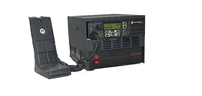 An example of what the radio would look like in an office environment.