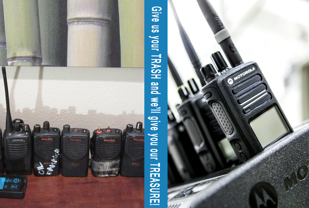 two way radio trade ins